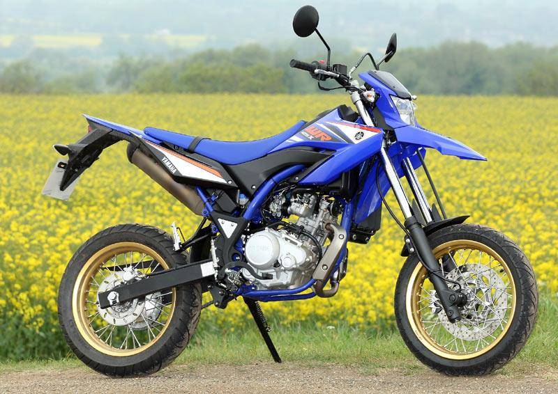 yamaha wr125x 2009 on review speed specs prices mcn. Black Bedroom Furniture Sets. Home Design Ideas