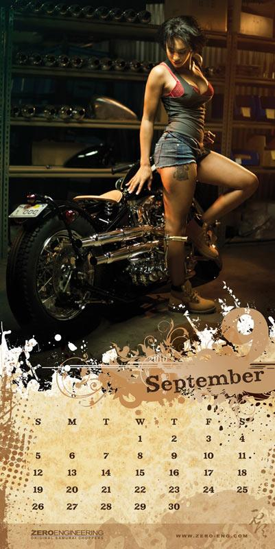 London Motorcycle Show >> 2010 Zero Engineering calendar on sale | MCN
