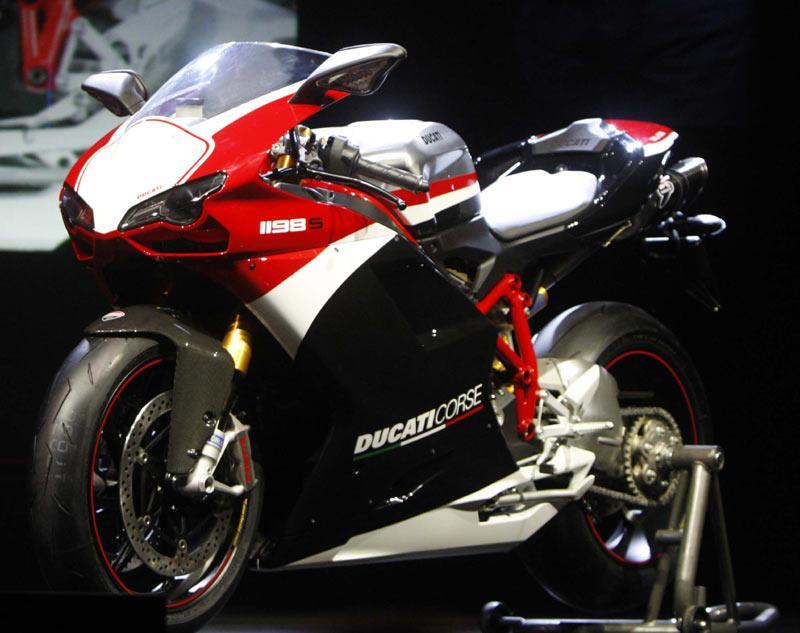 2010 ducati 1198s corse se special edition.