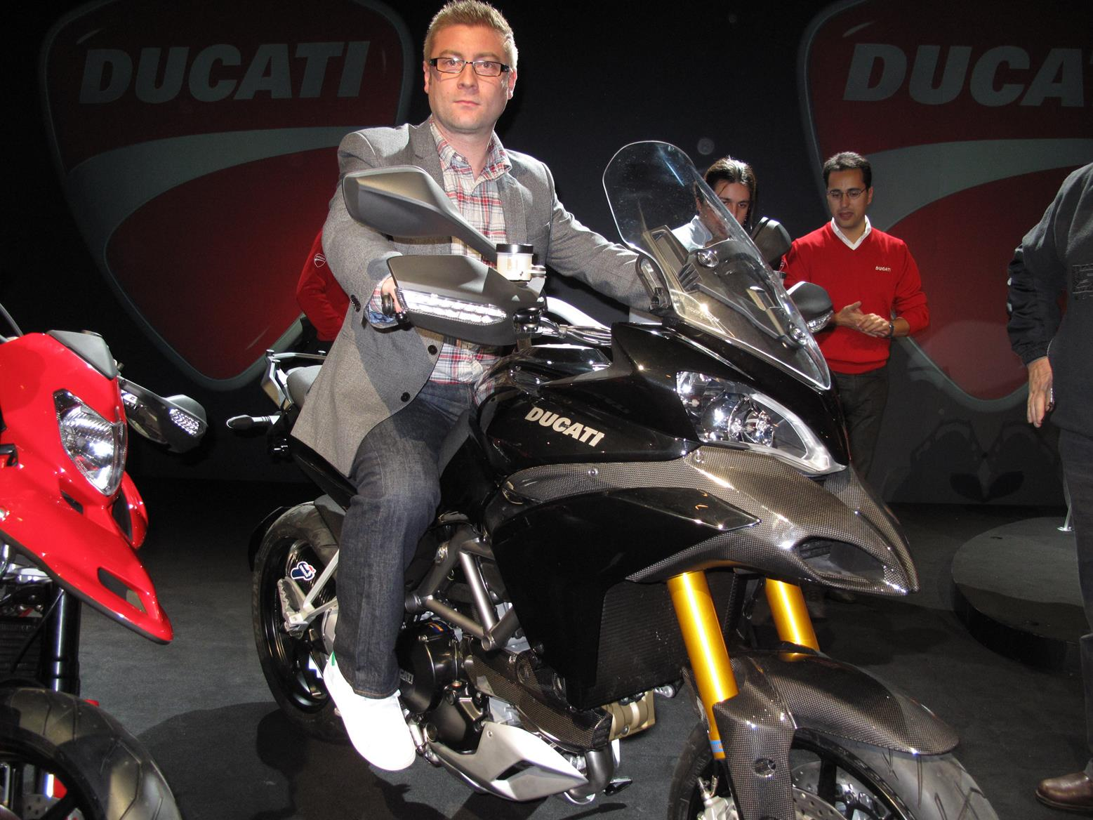 milan show: 2010 ducati multistrada 1200 to cost £10,995   mcn