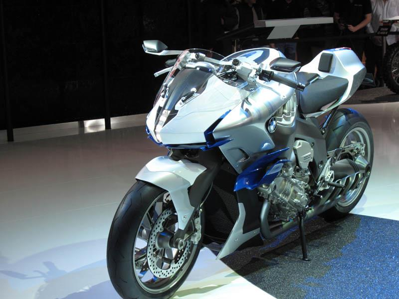Milan Show New BMW LT Is Sixcylinder MCN - 6 cylinder bmw