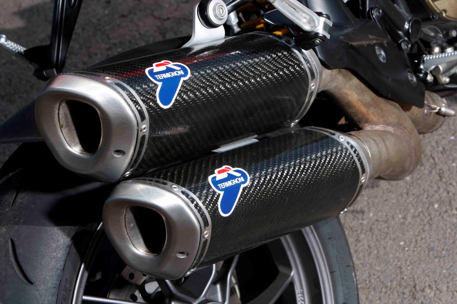Termignoni Cans On A Ducati Streetfighter