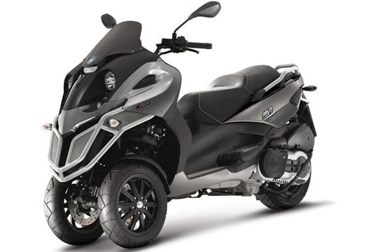 new piaggio mp3 500 and mp3 500 sport | mcn