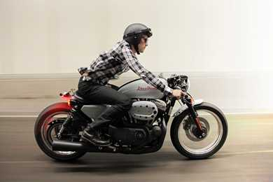 turn your harley sportster into a café racer | mcn