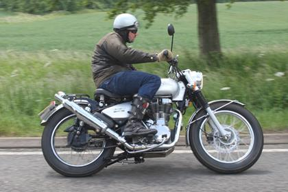 Royal Enfield Trials EFI