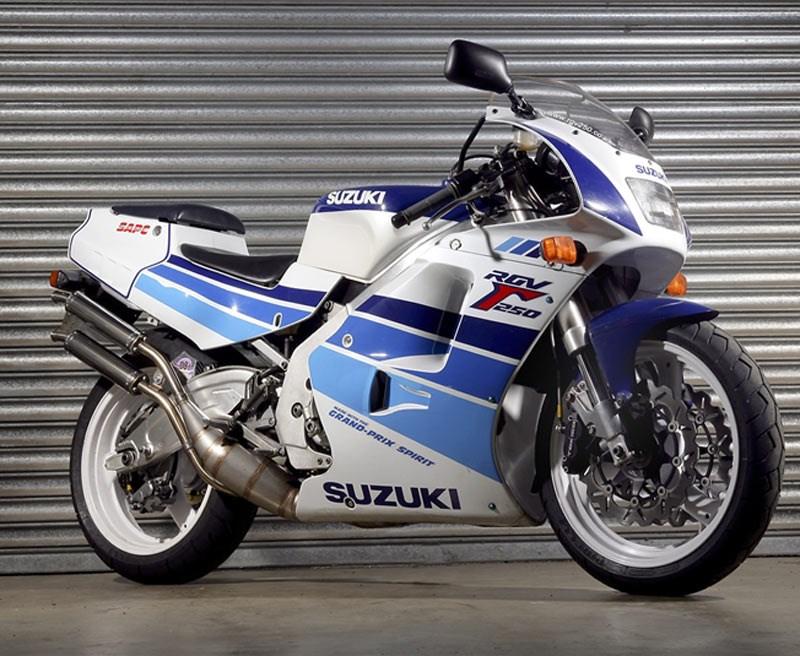 Suzuki Rgv Modified