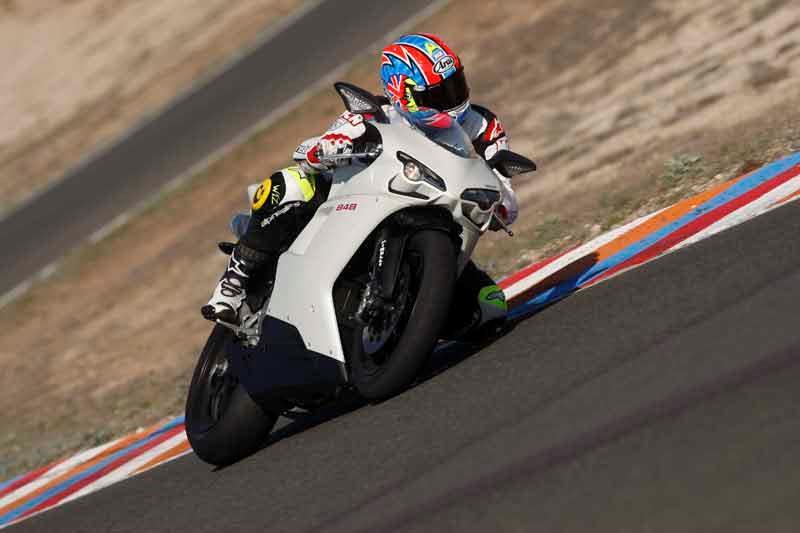 Chris Bushell Ducati