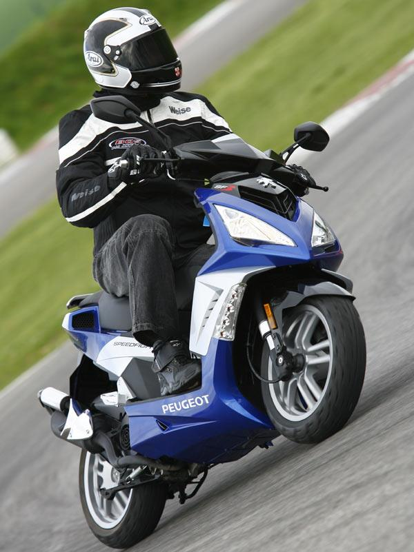 Peugeot Speedfight 3 50 2009 On Motorcycle Review Mcn