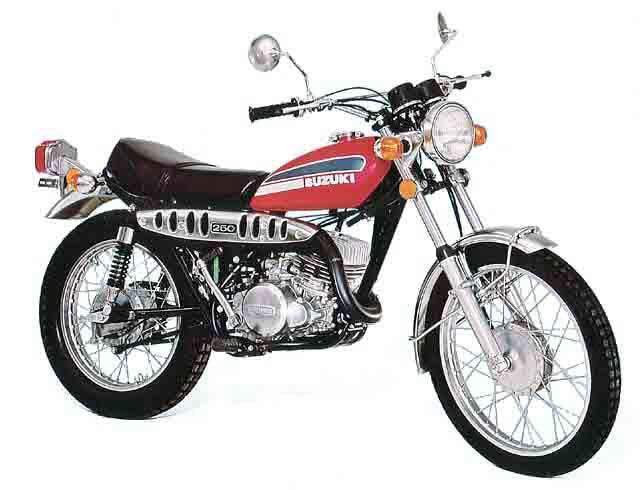 Suzuki Savage Mcn