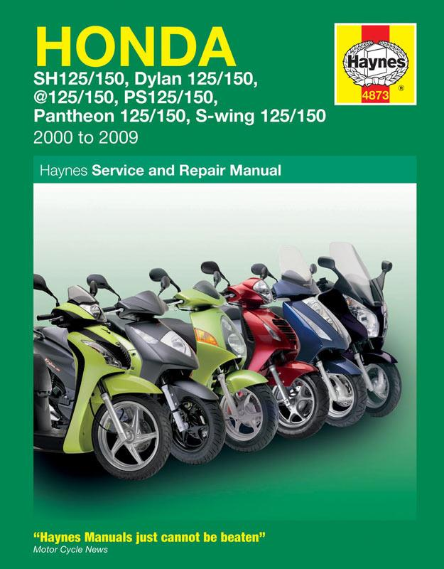 new haynes manual for honda 125 scooters mcn rh motorcyclenews com Scooter Wiring Diagram 24 Volt Electric Scooter Wiring Diagram