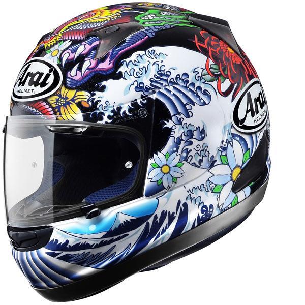 New Arai Helmet Designs