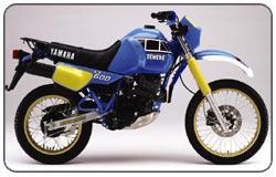 1983 Yamaha XT600Z Tenere (34L)