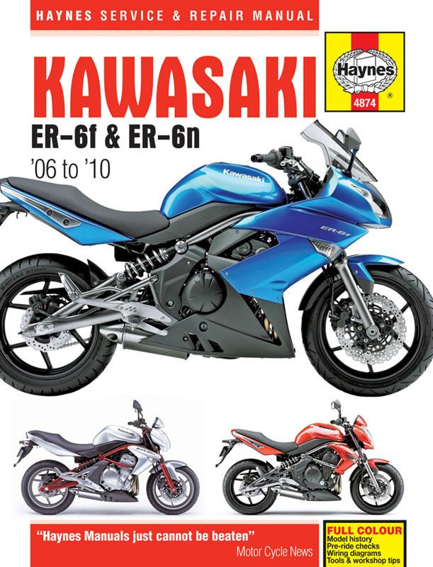 New Haynes Manual For Kawasaki Er