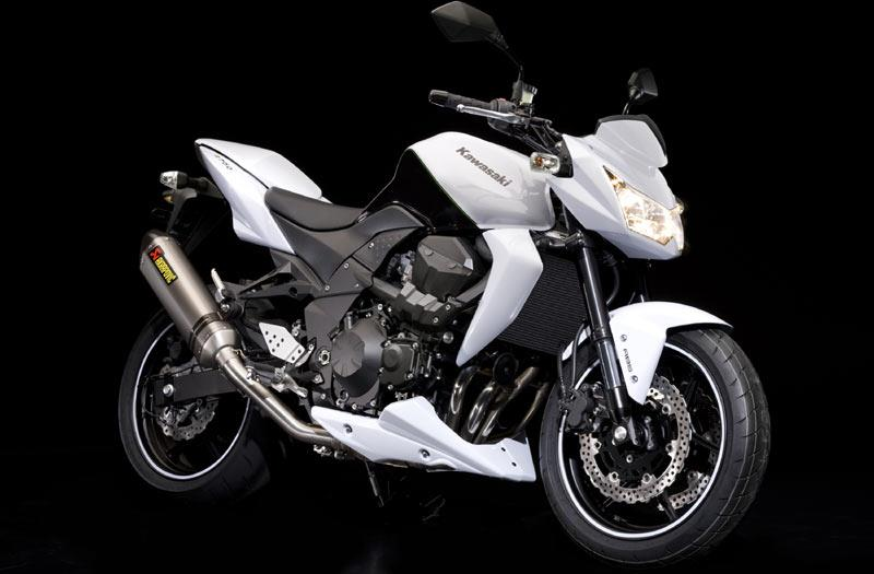 The Kawasaki Z750 Urban Sports Edition Has An Akrapovic Silencer