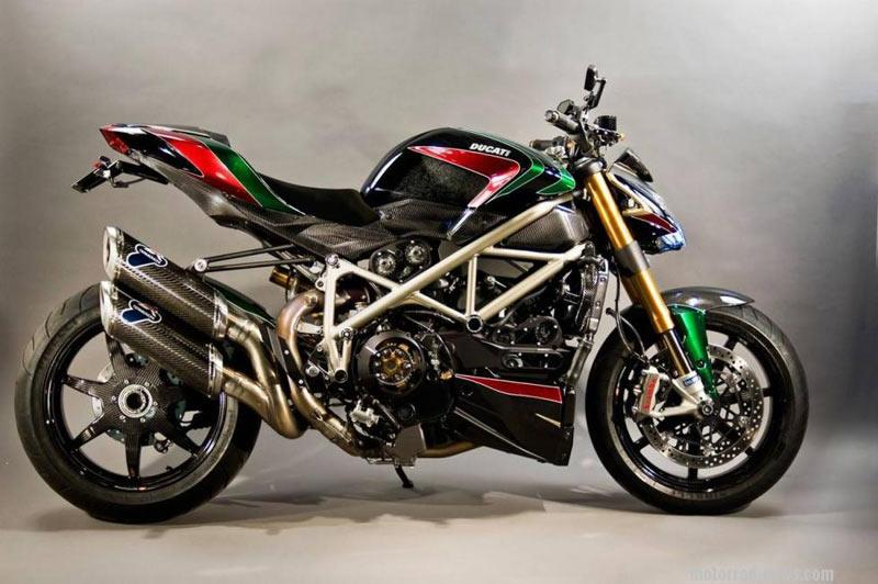 Customs and modified: Rizoma Ducati Streetfighter