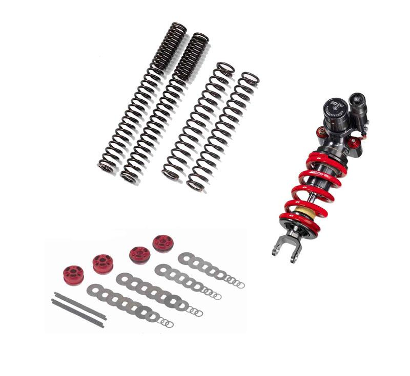 Bitubo suspension kit for street triple mcn for Suspension triple
