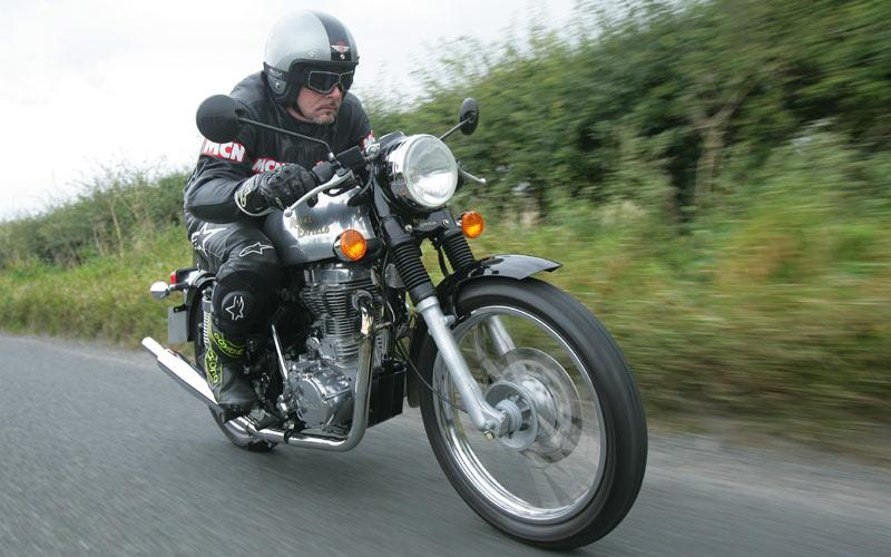 Motorcycle insurance bargains: Enfield Clubman