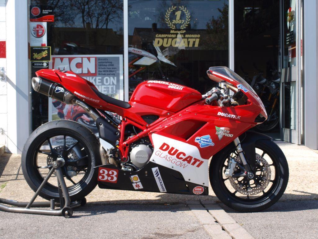 staff bikes: ducati 848 challenge racer – showroom to race ready