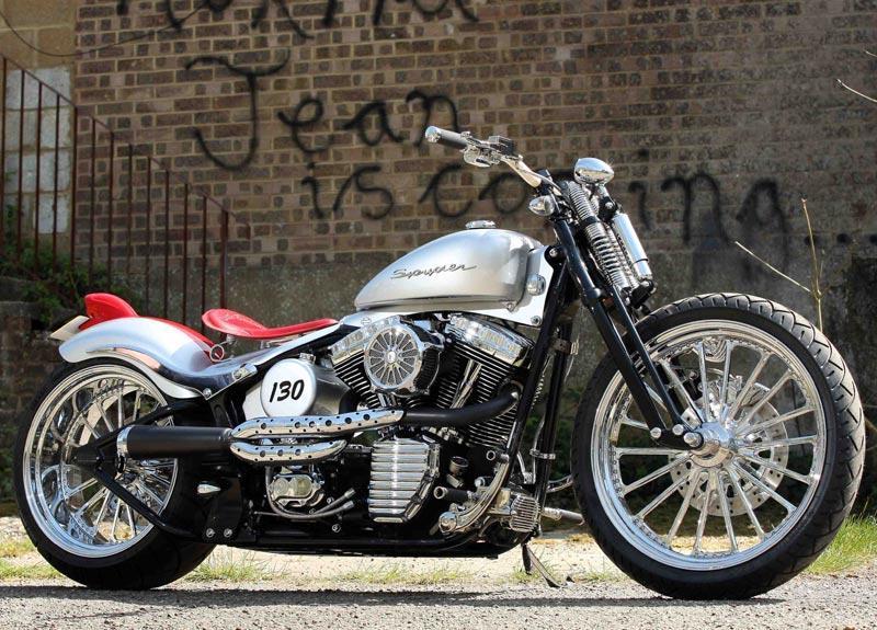 163 20 000 James Dean Tribute Harley Fat Boy Mcn