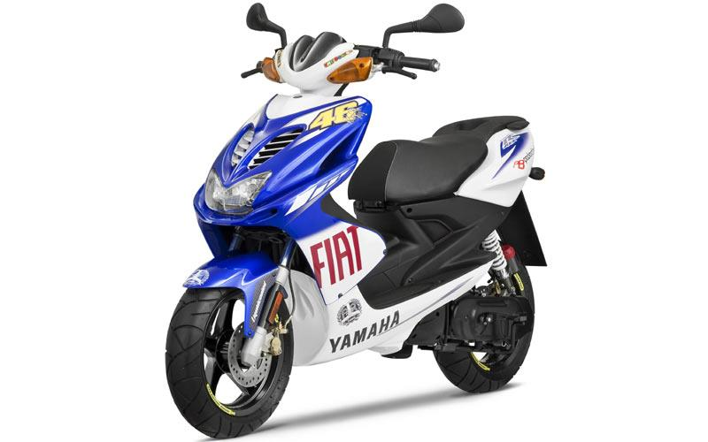 yamaha updates valentino rossi replica aerox scooter mcn. Black Bedroom Furniture Sets. Home Design Ideas