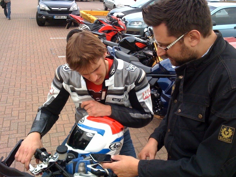 The Day Mcn Rode An Evel Knievel Harley Davidson Xr750 Replica: MCN Launches IPhone Ride Tracker