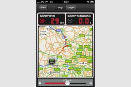 MCN launches iPhone ride tracker