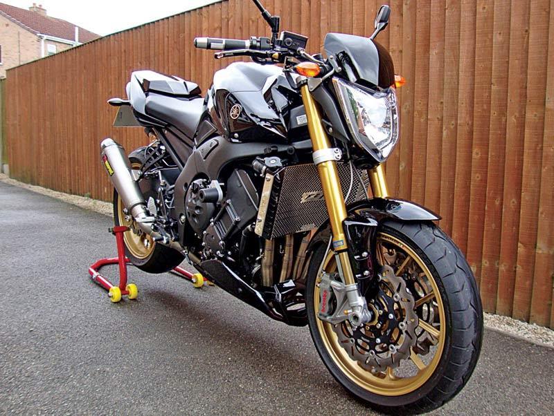 17,000 Yamaha FZ1 Abarth replica   MCN