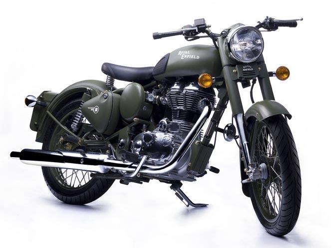Royal Enfield Bikes New Models New Battle Green Royal Enfield