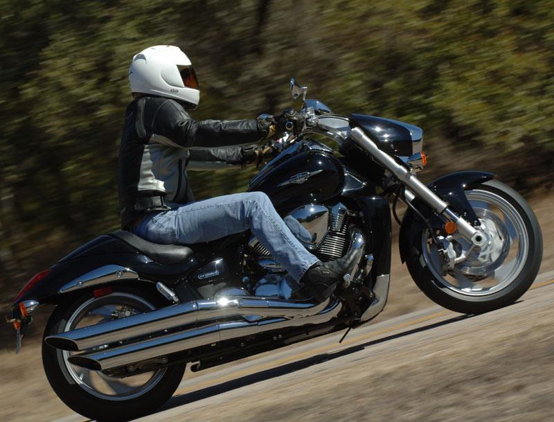 Suzuki Tire Size >> SUZUKI M1800R INTRUDER (2006-on) Review   MCN
