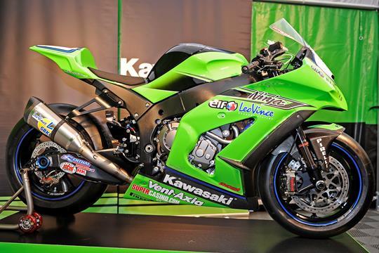 kawasaki unveil 2011 zx-10r race bike | mcn