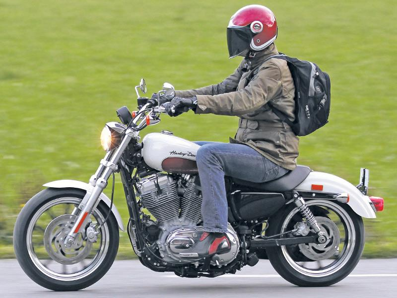 2011 Harley 883 SuperLow first ride | MCN