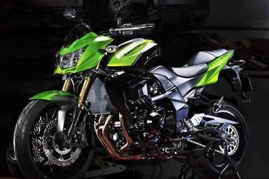 New Kawasaki Z750R Video