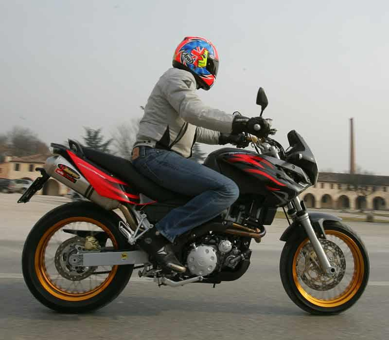 Aprilia Pegaso Factory Road Test