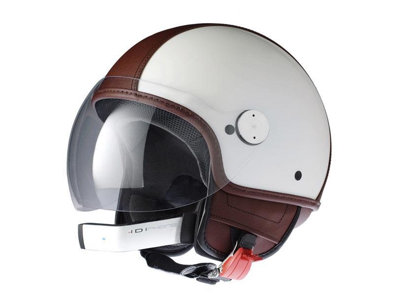 Bluetooth-ready Vespa helmet   MCN