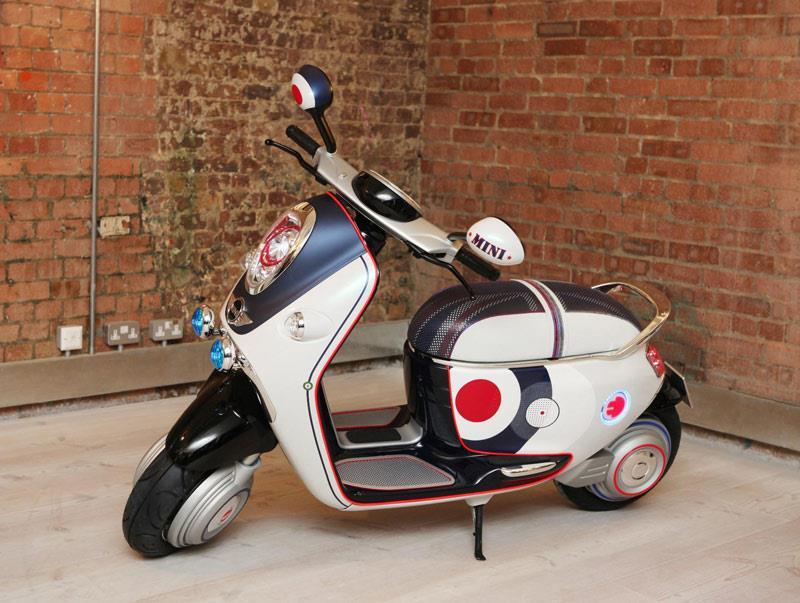 Mini Scooter E Concept Wows Media Mcn