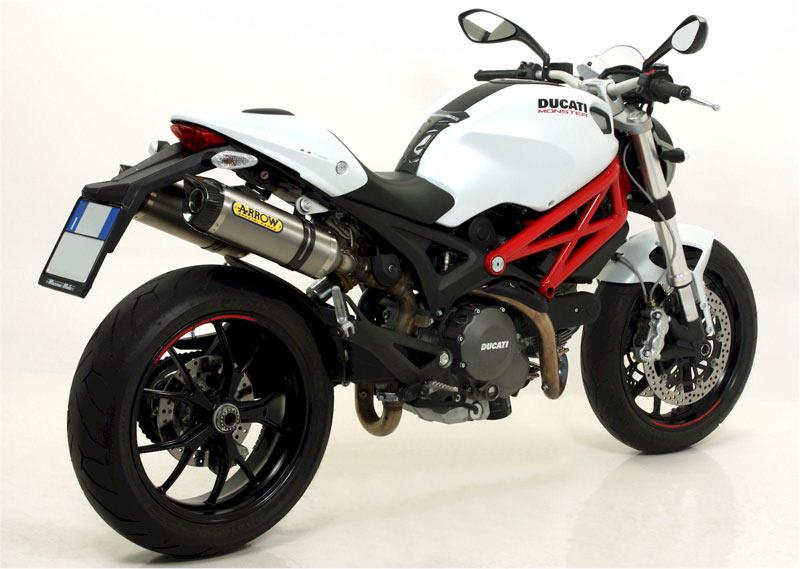 arrow exhausts for ducati monster 796 mcn. Black Bedroom Furniture Sets. Home Design Ideas