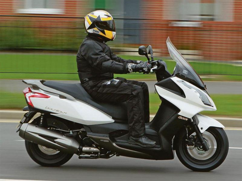 KYMCO DOWNTOWN 300 (2010-on) Review | Specs & Prices | MCN