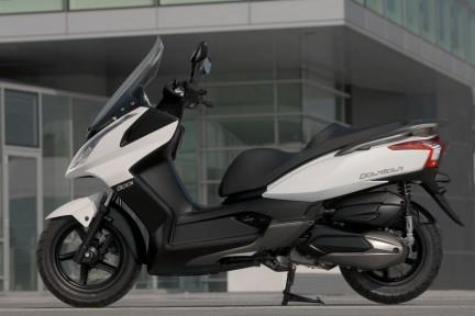 kymco downtown 300 (2010-on) review | mcn