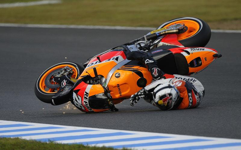 Motegi MotoGP: Jammed throttle caused Dani Pedrosa crash | MCN