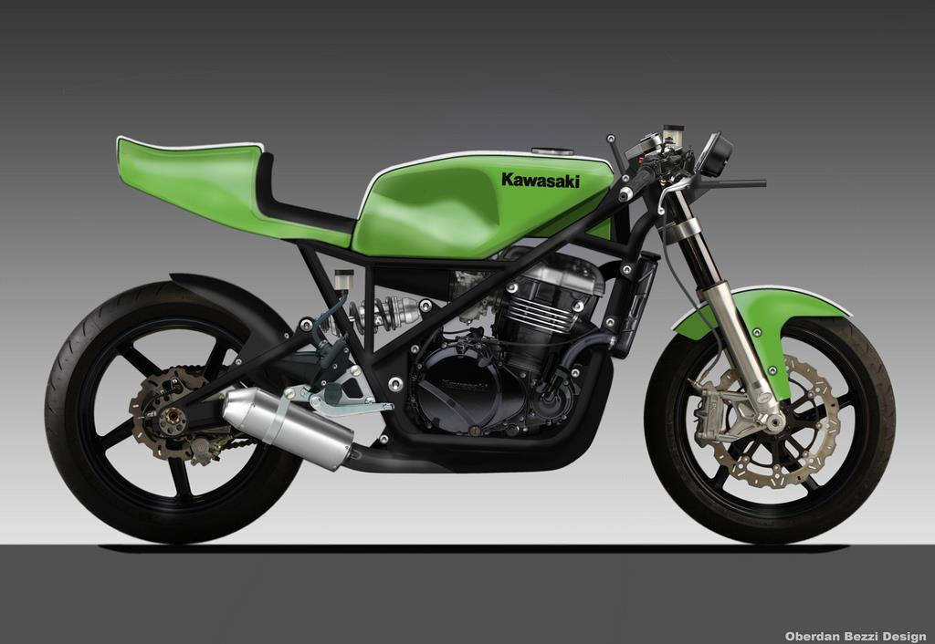 Kawasaki 500 trackday bike | MCN