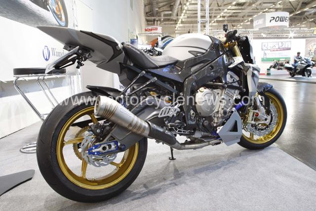 Cologne Bike Show Wunderlich BMW S1000RR Streetfighter