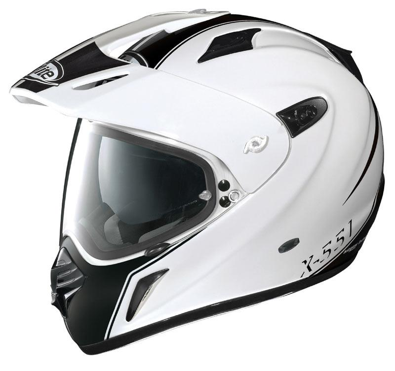 new x lite adventure helmet mcn. Black Bedroom Furniture Sets. Home Design Ideas