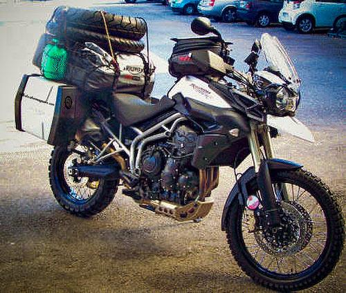 Triumph Tiger 800 XC – new spy pic | MCN
