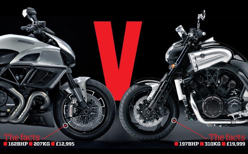 Yamaha Vmax Vs  Ducati Xdiavel
