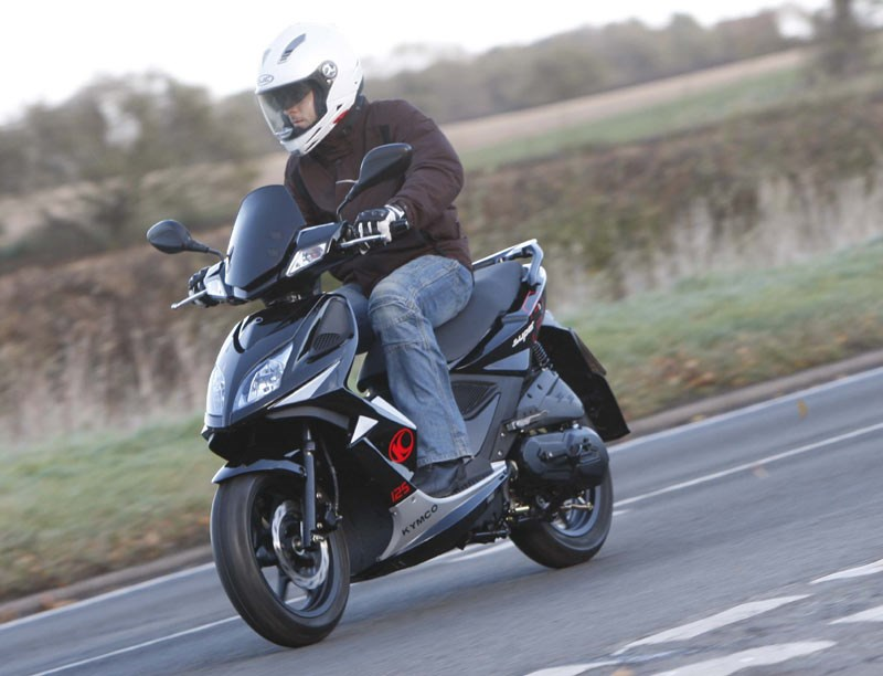 KYMCO SUPER 8 125 (2010-on) Review | Specs & Prices | MCN
