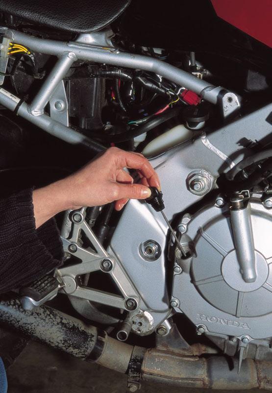 Know your bike's oil consumption