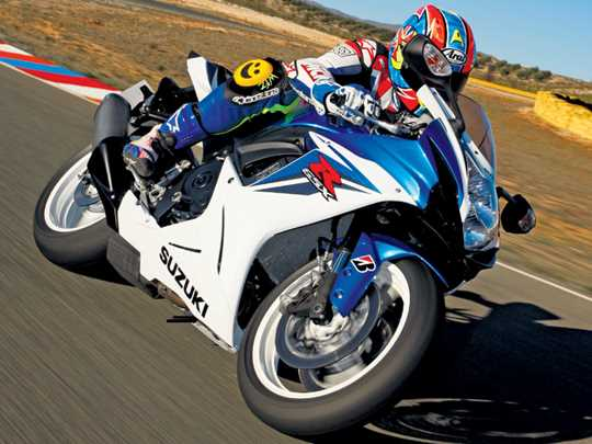 SUZUKI GSX-R600  (2011-on)