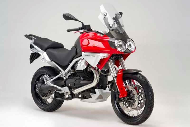 Moto Guzzi Stelvio V Test