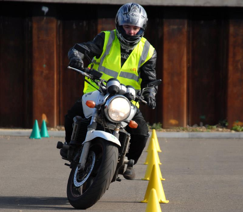 Motorcycle test cost