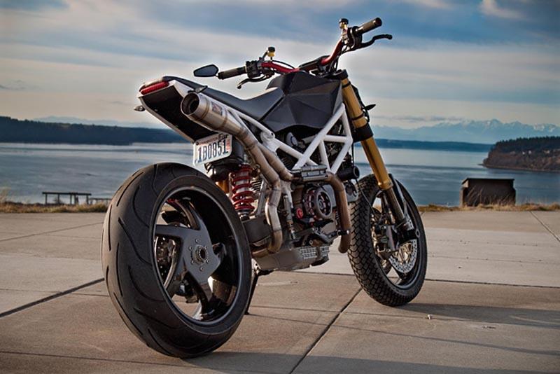 Custom Ducati Hypermotard For Sale